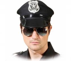 Brille Polizei verspiegelt