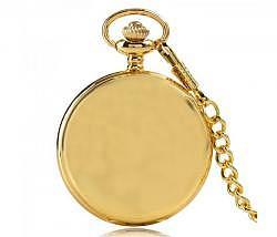 Retro Taschen Uhr gold