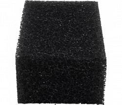 Stoppelschwamm grobporig schwarz