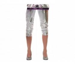 Leggings silber Gr. 40