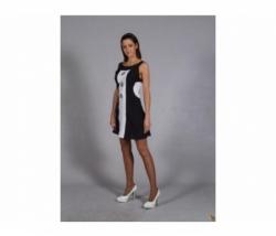 Kleid Black + White Gr. 42