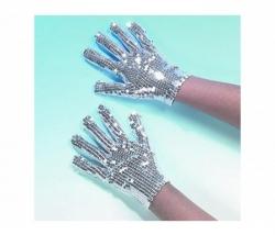 Handschuh Jacko silber