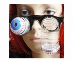 Brille mit Spiralaugen