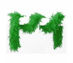 Federboa 180 cm grün