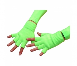 Handschuhe neon-grün