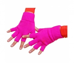 Handschuhe neon-pink