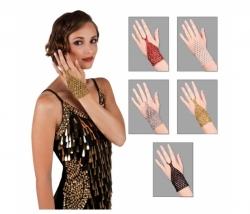 Handschuhe fingerlos assortiert