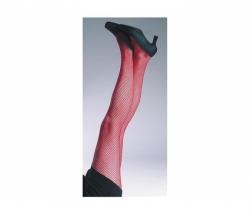 Netzstrumpfhose Rot