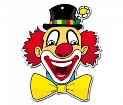 Dekomaske Clown Leo