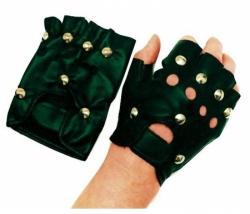Punker Handschuhe mit Nieten