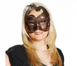 Venezianische Maske kupfer