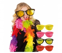 Brille Party Jumbo rot