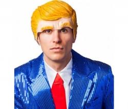 Herren Halbmaske Trump