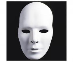 Maske zum bemalen Mann