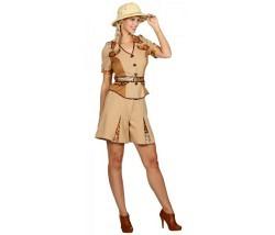 Safari Frau Gr. 38