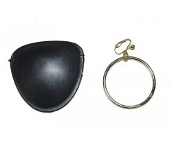 Augenklappe mit Ohrring