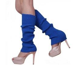 Beinstulpen blau