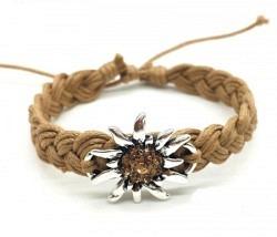 Edelweiss Armband beige
