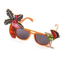 Brille Flamingo