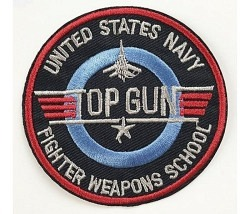 Bügelbild Top Gun