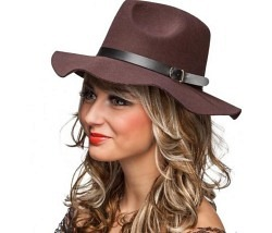 Klassischer Hut braun