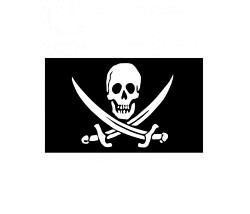 Piraten Fahne 150 x 90 cm