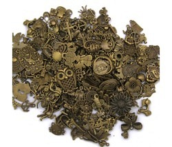 Vintage Anhänger bronce