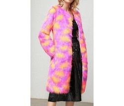 Mantel pink-lila-orange Gr. S