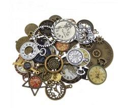Uhren Anhänger assortiert