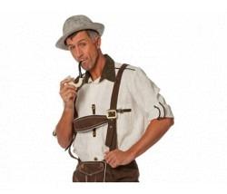 Tiroler Hemd écru Gr. 48