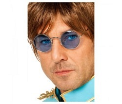Brille John Lennon blau