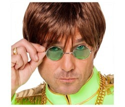 Brille John Lennon grün