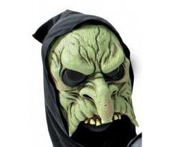 Horror Maske grün