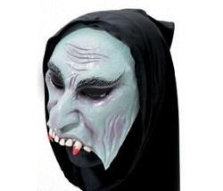 Horror Maske grau