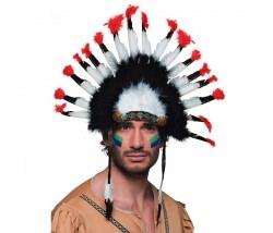 Kopfschmuck Indianer Coyote