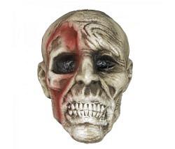 Zombiekopf aus Styropor