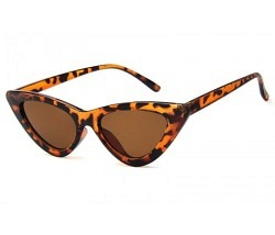 Brille Katzenauge Leopard