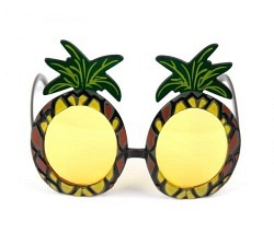 Brille Ananas
