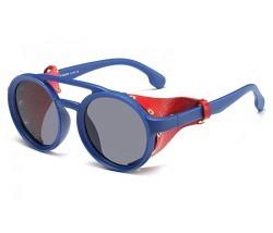 Brille balu mit Seitenteil rot