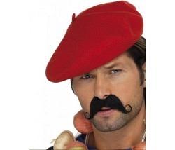 Baskenmütze rot