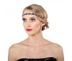 Haarband mit Strasssteinen