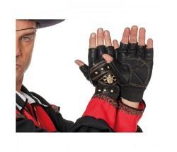 Handschuhe Lederlook